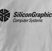Silicon Graphics Computer T Shirt GRAY Geek T Shirt