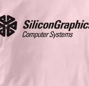 Silicon Graphics Computer T Shirt PINK Geek T Shirt