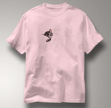 Chessie System T Shirt Sleeping Kitten PINK Railroad T Shirt Train T Shirt B&O Museum T Shirt Sleeping Kitten T Shirt