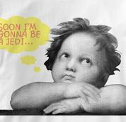 Jedi T Shirt Soon Gonna Be WHITE Kids T Shirt Soon Gonna Be T Shirt