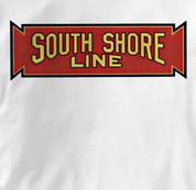 South Shore Line T Shirt Vintage WHITE Railroad T Shirt Train T Shirt Vintage T Shirt