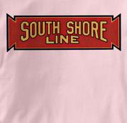 South Shore Line T Shirt Vintage PINK Railroad T Shirt Train T Shirt Vintage T Shirt