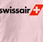 Swissair T Shirt PINK Airlines T Shirt Aviation T Shirt