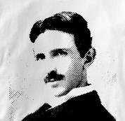 Nikola Tesla T Shirt Physicist WHITE Science T Shirt Physicist T Shirt Geek T Shirt