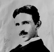 Nikola Tesla T Shirt Physicist GRAY Science T Shirt Physicist T Shirt Geek T Shirt