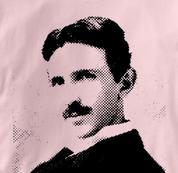 Nikola Tesla T Shirt Physicist PINK Science T Shirt Physicist T Shirt Geek T Shirt