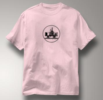 Tom Thumb T Shirt PINK Railroad T Shirt Train T Shirt B&O Museum T Shirt