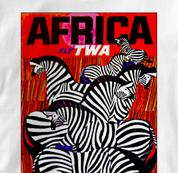 TWA T Shirt Africa WHITE Airlines T Shirt Aviation T Shirt Africa T Shirt