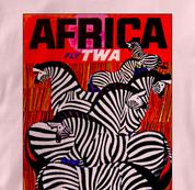 TWA T Shirt Africa PINK Airlines T Shirt Aviation T Shirt Africa T Shirt