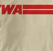 TWA T Shirt TAN Airlines T Shirt Aviation T Shirt