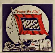 Wabash T Shirt Follow the Flag TAN Railroad T Shirt Train T Shirt Follow the Flag T Shirt