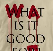 Peace T Shirt War What Is It Good For TAN War What Is It Good For T Shirt