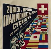 Bicycle T Shirt Zurich 1936 TAN Cycling T Shirt Zurich 1936 T Shirt